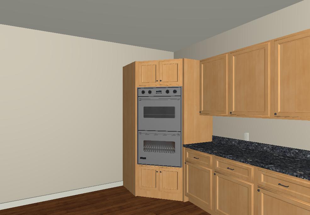 Excellent Double Ovens Corner Cabinet Interior Design Ideas Pimpapslepicentreinfo