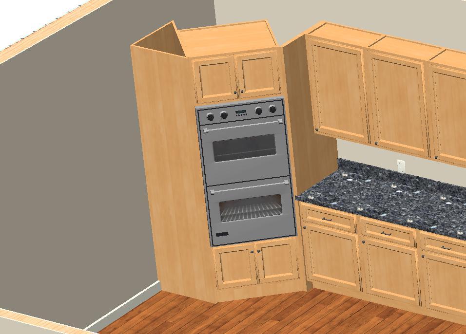 Terrific Double Ovens Corner Cabinet Interior Design Ideas Pimpapslepicentreinfo
