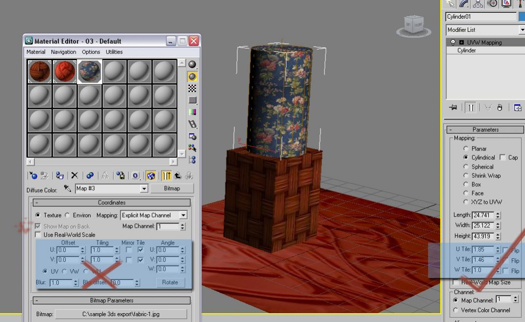 Importing objects from 3D Studio Max