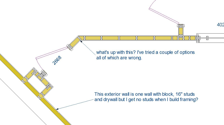 Framing An Exterior Wall Corner. Framing An Exterior Wall Corner ...